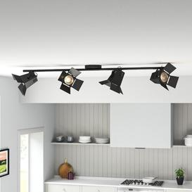 image-4-Light Track Kit Borough Wharf Frame colour and shade colour: Black, Bulb: LED
