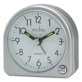 image-Arch Alarm Clock Acctim Finish: Metallic Silver