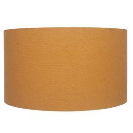 image-Handloom Linen Drum Lamp Shade Brayden Studio Size: 26cm H x 45cm W x 45cm D
