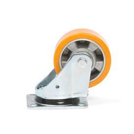 image-Castor wheel, 125x50 mm polyurethane, 450 kg