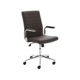 image-Wexford Executive Bonded Leather Chair (Brown), Brown