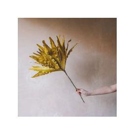 image-Faux Mustard Solvie Flower