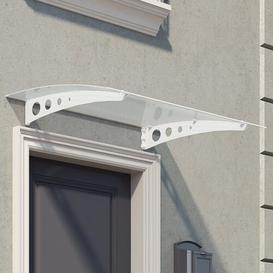 image-Lyra 1.35 m W x 0.9 m D Door Canopy Palram