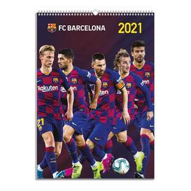 image-Barcelona A3 Calendar 2021