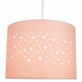 image-25cm Cotton Drum Lamp Shade Mack + Milo Finish/Colour: Pink