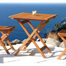 image-Galvan Folding Bistro Table Sol 72 Outdoor Colour: Natural