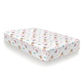 image-Unicornland 132 Thread Count 100% Cotton Percale Fitted Sheet Cosatto Size: Toddler (70 x 140cm)