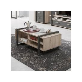 image-Andora Coffee Table Rectangular In Sorrento Oak And Anthracite