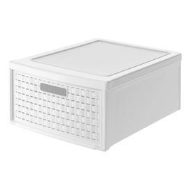image-Millbrook Plastic Storage Box Rebrilliant Colour: White