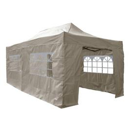 image-Janalee 3m x 6m Pop Up Gazebo Sol 72 Outdoor Roof Colour: Beige