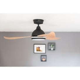 image-122cm Bayu Ceiling Fan with Remote Brayden Studio