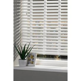 image-Faux Wood Venetian Blind 200cm Drop