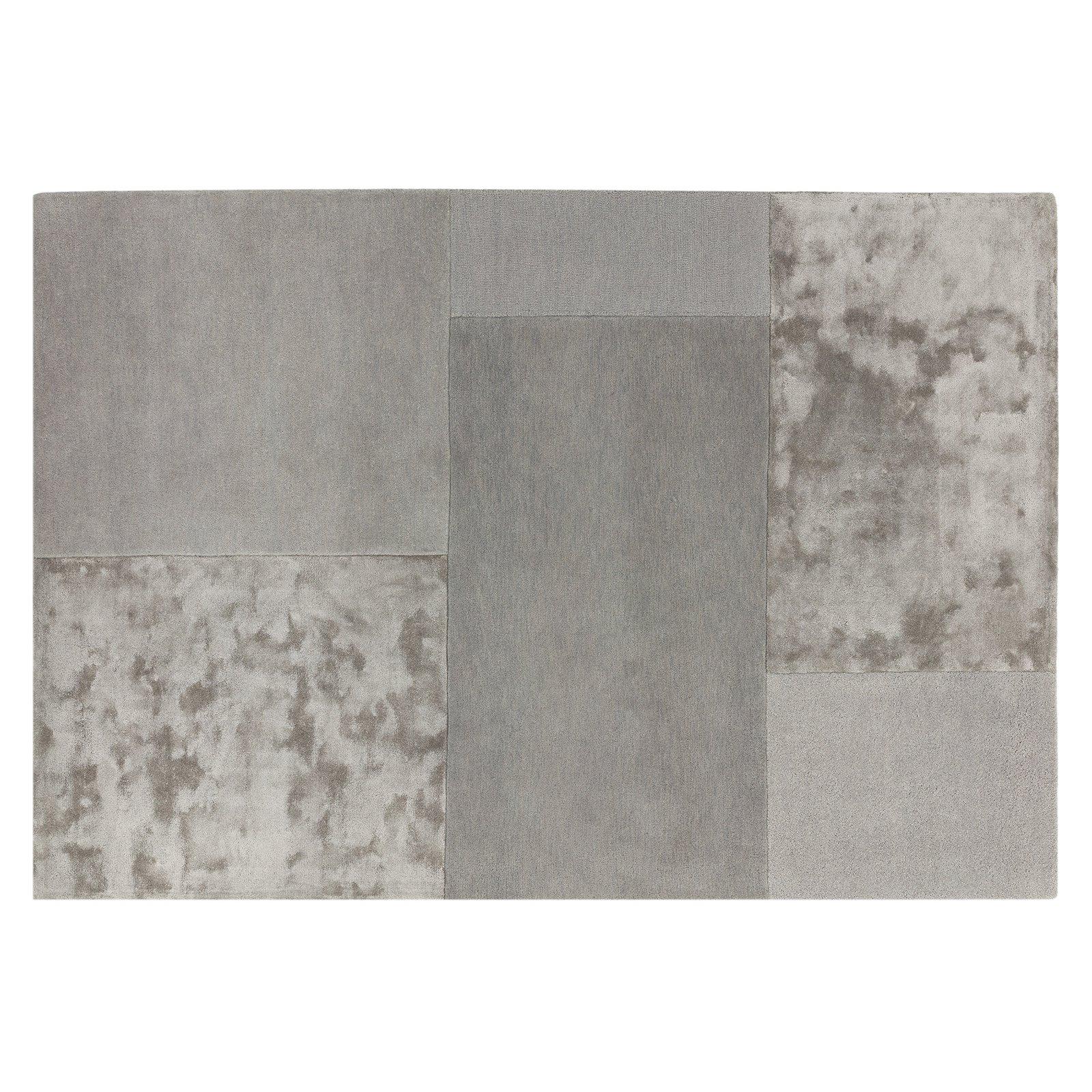 image-Tatler Hand-tufted Wool Rug, 120 x170 cm, Silver