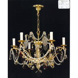 image-Damm 6-Light Candle-Style Chandelier Astoria Grand