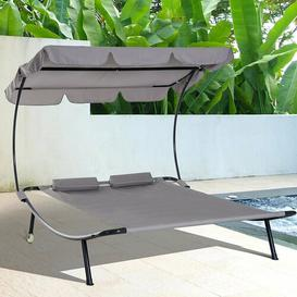 image-Double Hammock with Stand Zipcode Design