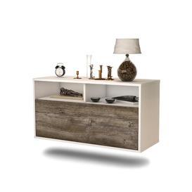 image-Loyne TV Stand Ebern Designs Colour: Medium Oak