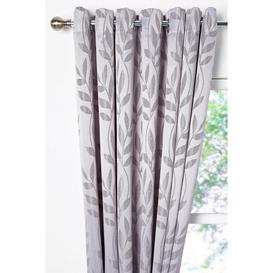 image-Norfolk Lined Eyelet Curtains and Tie Backs