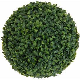 image-Ball Hanging Boxwood Grass Symple Stuff