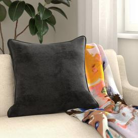 image-Moira Cushion with Filling Canora Grey Colour: Silver, Size: 45 x 45cm