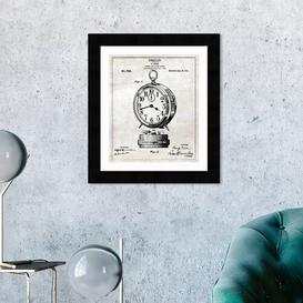 image-'Casing for Alarm Clocks 1911' Framed Graphic Art East Urban Home Size: 31 cm H x 25 cm W