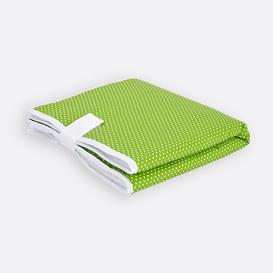 image-White Dots Travel Changing Mat KraftKids Colour: Green