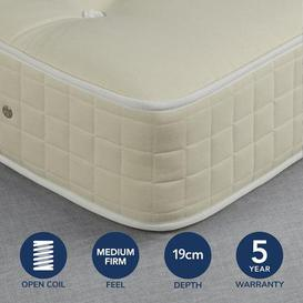 image-Fogarty Value Orthopaedic Open Coil Mattress White