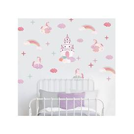 image-little home at John Lewis Magical Unicorn Wall Stickers, Multi