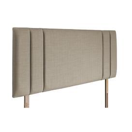 image-Lindsey Upholstered Headboard Brambly Cottage Colour: Fudge, Size: Super King (6')