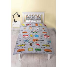 image-Friends Manhattan Rotary Reversible Duvet Set