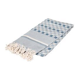 image-Melida Bath Towel Single Piece Brambly Cottage Colour: Blue