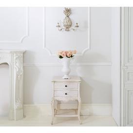 image-Vignette White-Washed Bedside Table - Bedside Table