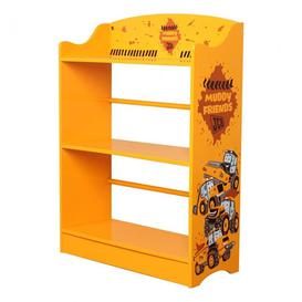 image-JCB Kids Muddy Friends Bookcase In Yellow