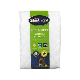 image-Silentnight Anti-Allergy Mattress Protector, Single