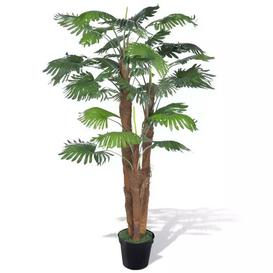 image-Floor Palm Plant in Pot Bay Isle Home