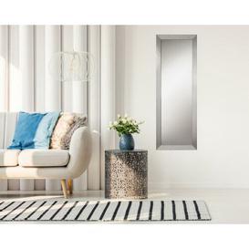 image-Aryana Accent Mirror Mercury Row Size: 139cm H x 49cm W