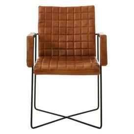 image-The Brown Leather Occasional Chair
