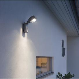image-Latina LED Wall Light with PIR Sensor Konstsmide Size: 28cm H x 11cm W x 10cm D