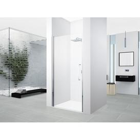 image-Young Semi-Frameless Hinged Shower Door