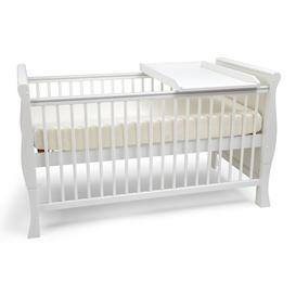 image-Lozano Cot Bed with Mattress Isabelle & Max Mattress Type: Deluxe Sprung Mattress, Drawer Included: Yes