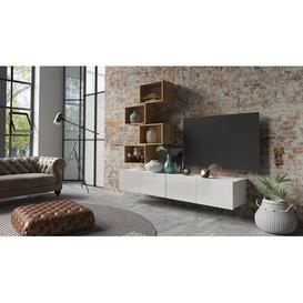 "image-Yerger Entertainment Unit for TVs up to 88"" Mercury Row Colour: White"