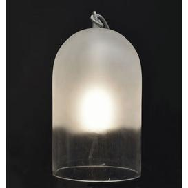 image-Dewy Large Table lamp - H 42 cm / Glass by ENOstudio White,Transparent