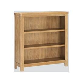 image-Andorra Washed Oak Low Bookcase
