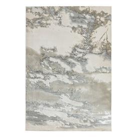 image-Asiatic Aurora Marble Rectangle Rug - 120x170cm - Grey