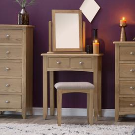 image-Gloucester Oak Dressing Table