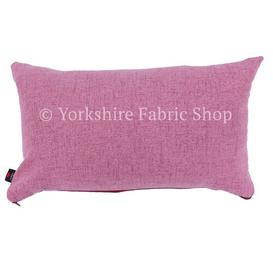 image-James Cushion with Filling Yorkshire Fabric Shop Colour: Pink