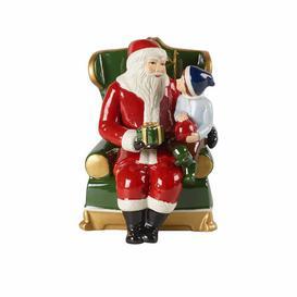 image-Christmas Toys Santa in an Armchair Figurine Villeroy & Boch