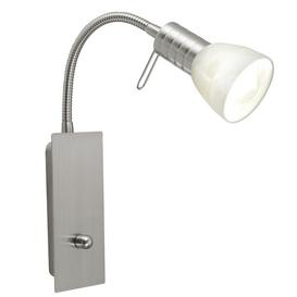 image-86428 Prince1 1 Light Wall Spotlight In Matt Nickel