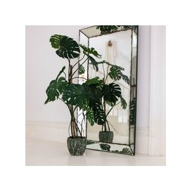 image-Large Faux Monstera Plant