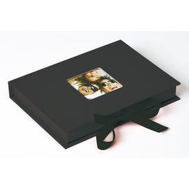 image-Fun Photo Album Symple Stuff Colour: Black