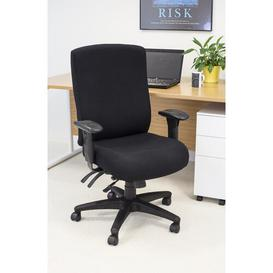 image-Executive Chair Symple Stuff Colour: Black